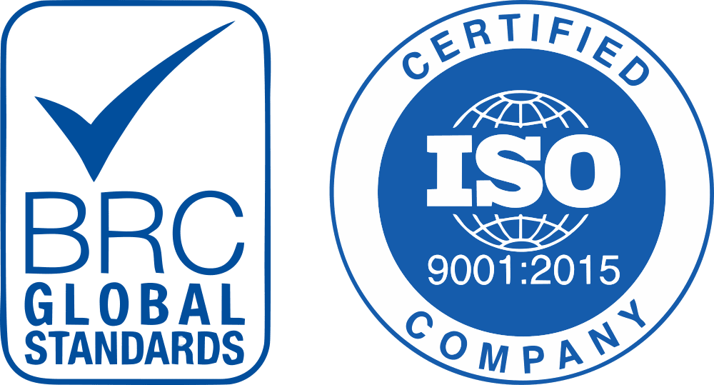 BRC global standards and ISO 9001 2015 Certifications