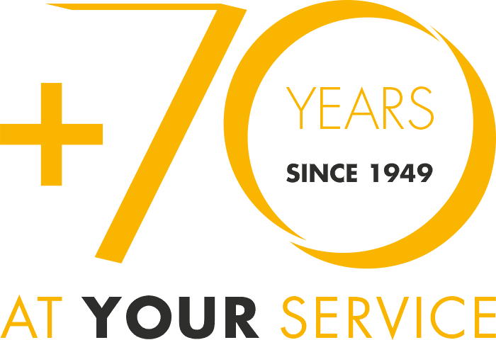 70 years at your service since 1949
