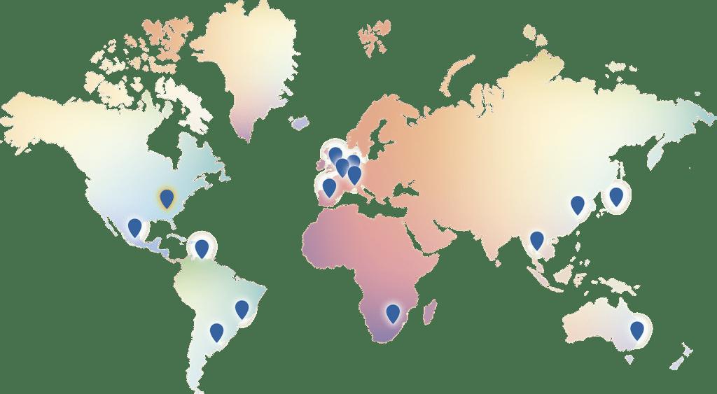 Precision WorldMap presence